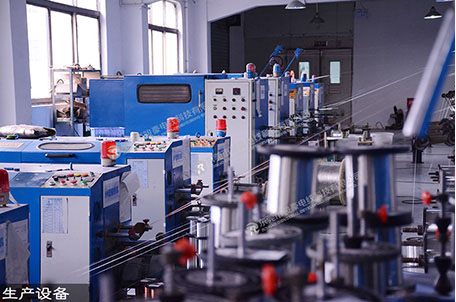 Silicone wire production equipment