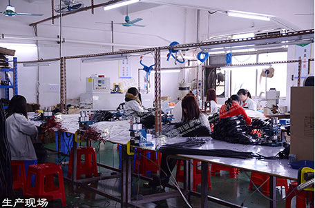 Silicone wire and cable production workshop