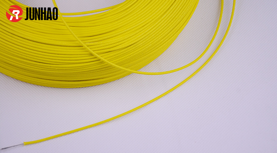 UL3122 22AWG silicone braided wire