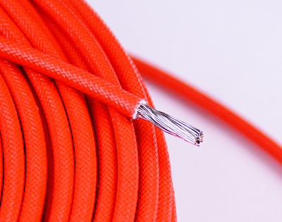 4 Square mm Silicone Braided Copper Wire