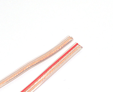 Transparent Double Core Flat Wire
