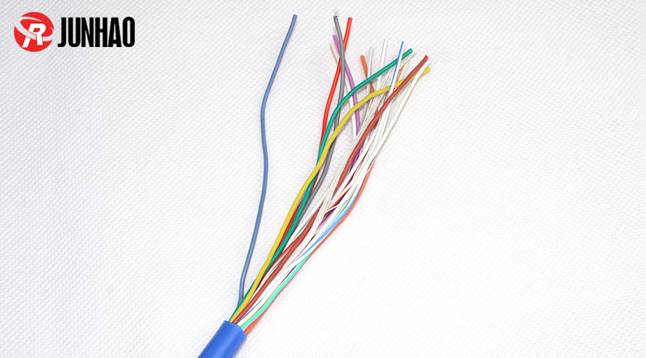 high-temp resistant 16core silicone cable