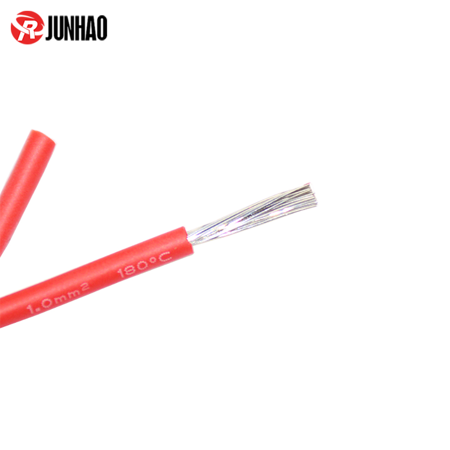 VDE 1.0mm2 Silicone Rubber Insulated Wire 3