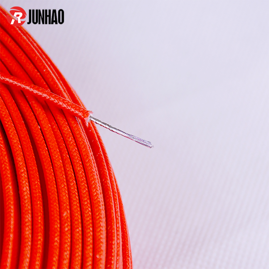 3122 18 AWG Silicone Rubber Braided Insulated Electric Wire 1