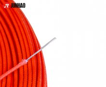 UL3122 24awg Fiberglass Braided Electrical Cable Silicone Rubber Insulated Wire