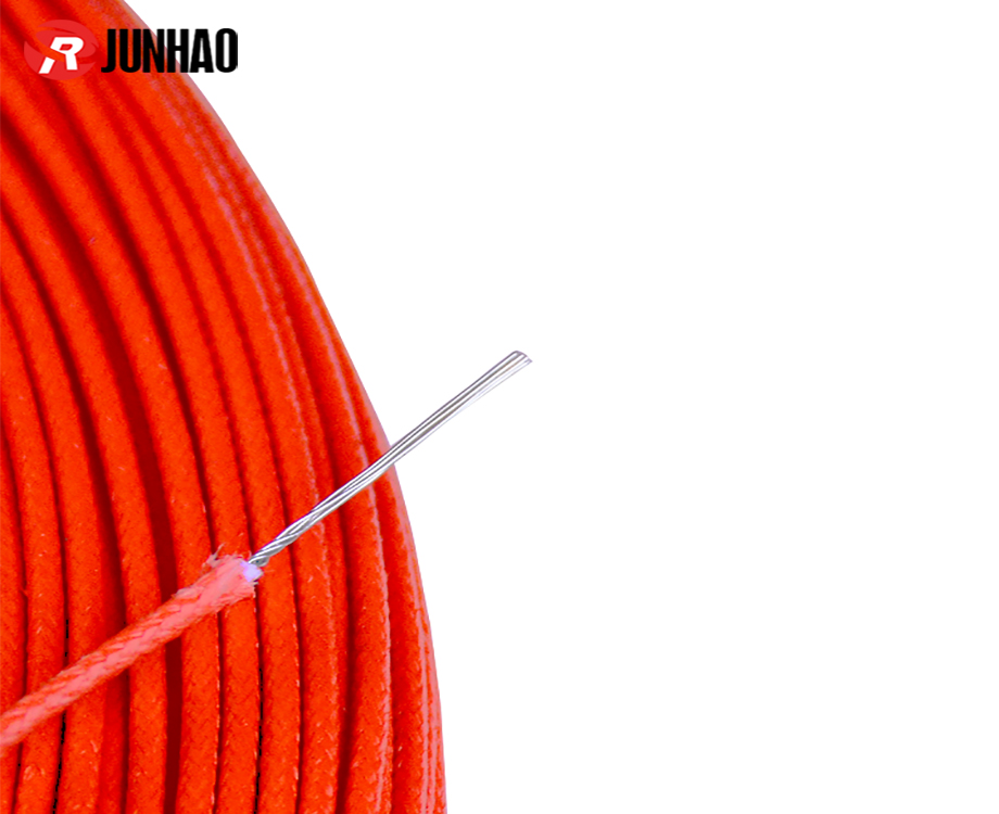 UL3122 24awg Fiberglass Braided Electrical Cable Silicone Rubber Insulated Wire 1