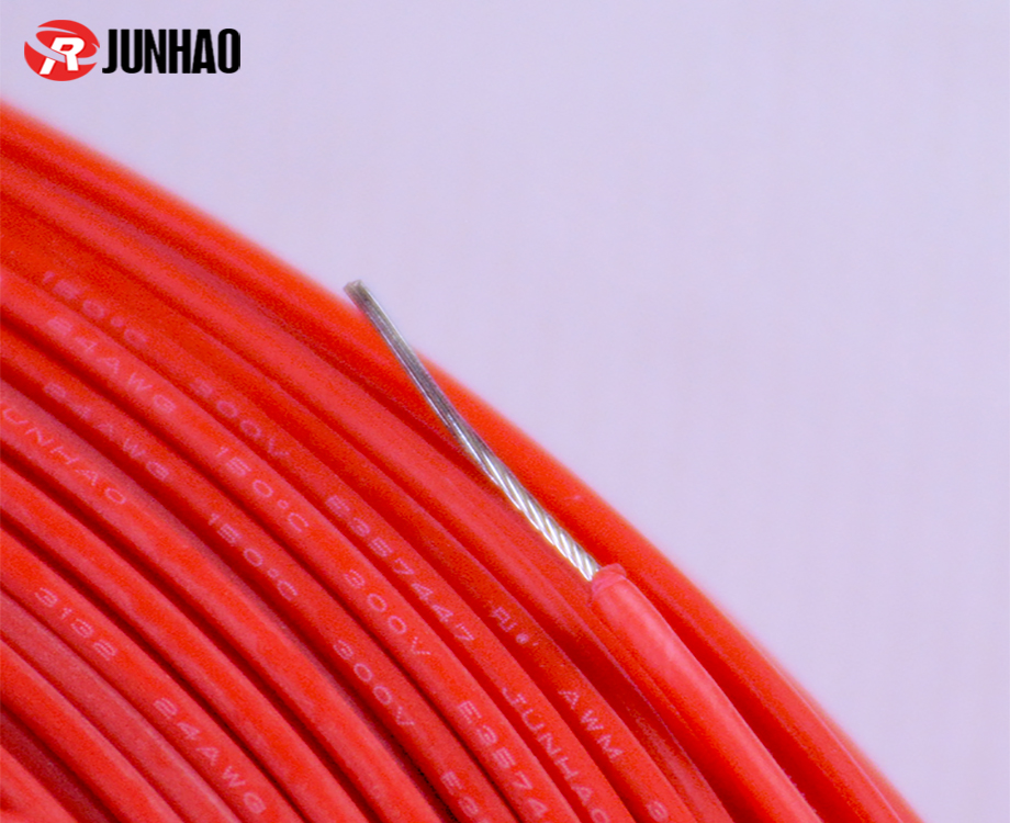 UL 3132 24 Gauge Silicone Rubber Wire 2