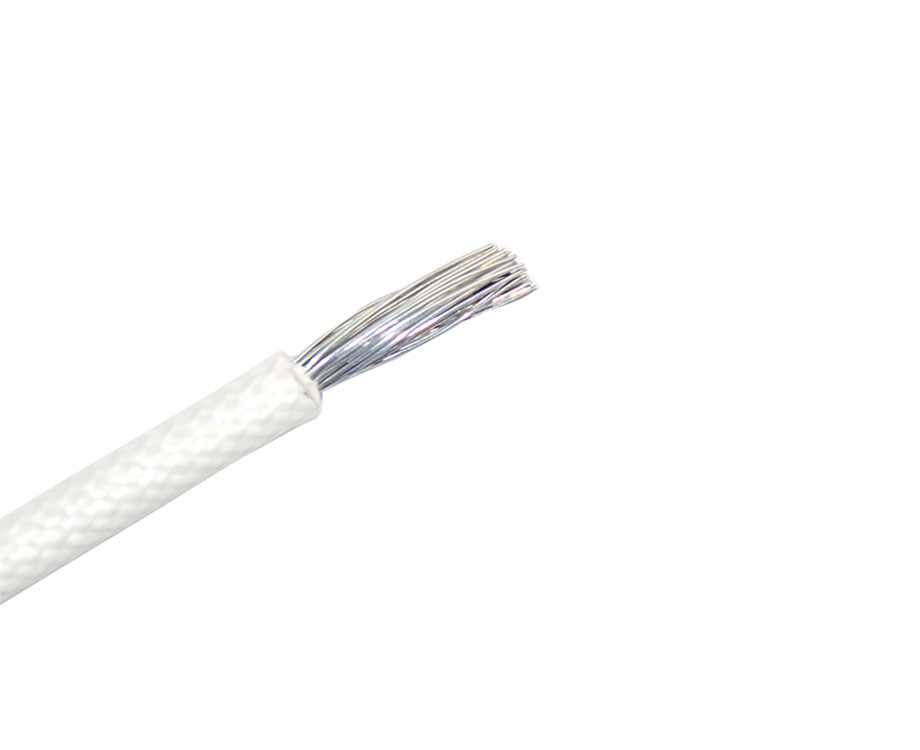 Flexible UL3122 12 awg Silicone Rubber and Fiberglass Braided Wire Cable 1