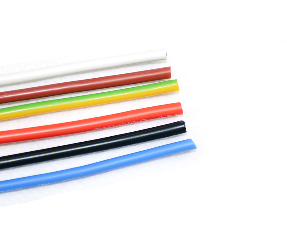 VDE Certificate Silicone Rubber Insulation 1.5mm2 Electrical Wire 3