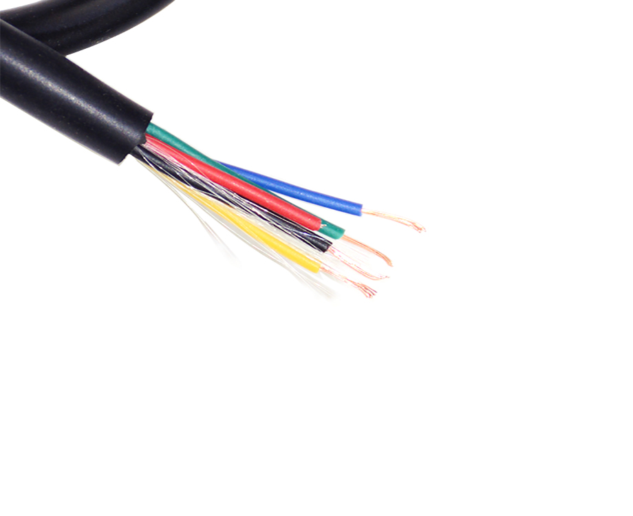 Cable AWG 28, 5 Cores PVC Cable Wire Electrical for Household 3
